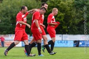 Steffen Dimmer erzielt 3 Tore - zuvor verwandelte Steffen einen Freistoss clever zum 3:1